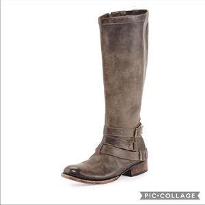 Freebird Boots Irish Leather Triple Buckle
